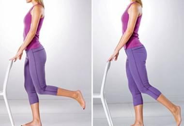 Bài tập Yoga nâng chân cho vòng 3 săn chắc