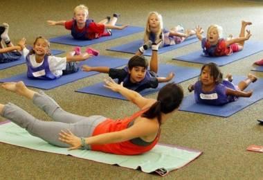 Yoga cho bé & điều thú vị