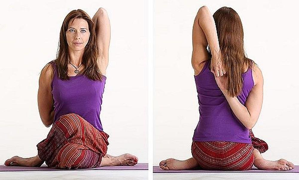 động tác Yoga Mặt Bò