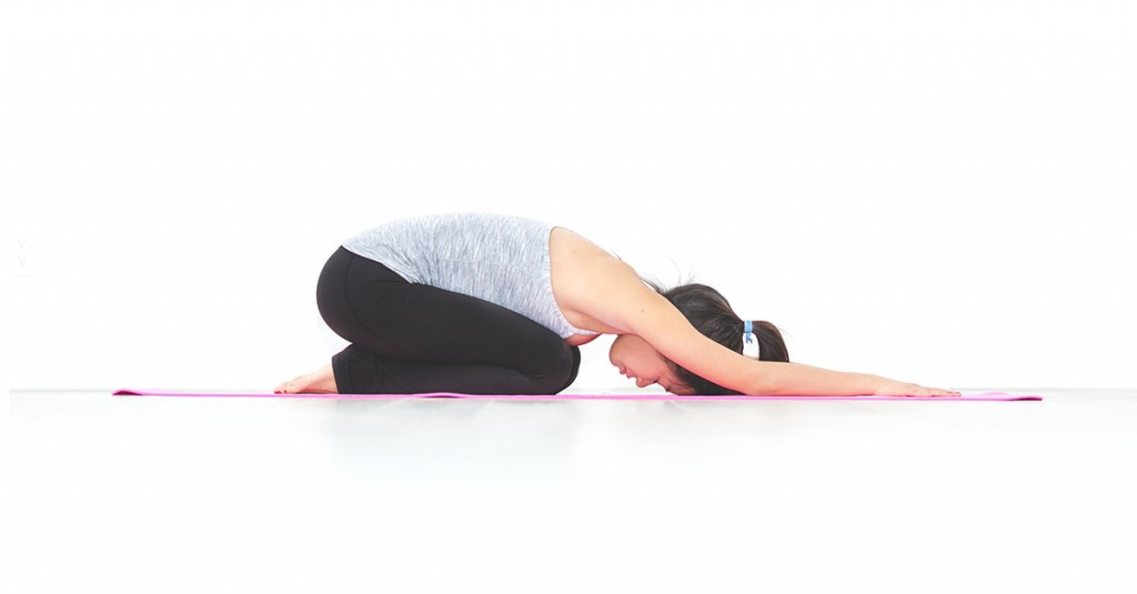 Tư thế Yoga Đứa Trẻ