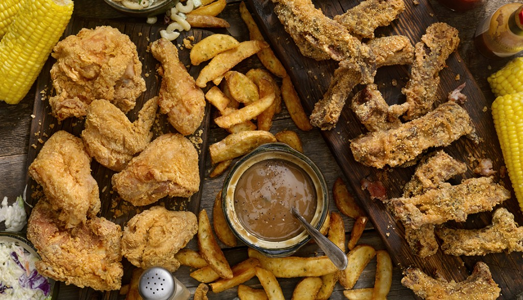 Fried Chicken and Country Fried Rib Feast