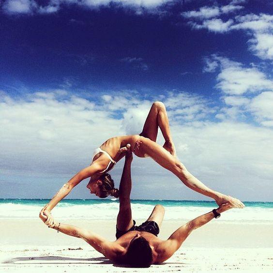 yoga cặp đôi