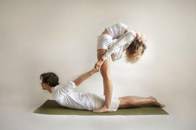 yoga hạnh phúc
